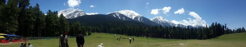 Panoramic view of Baisaran