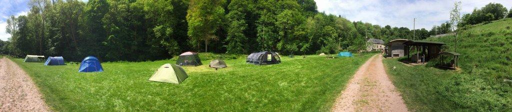 Birthday Camping