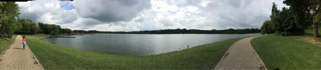 Beautiful relaxing park