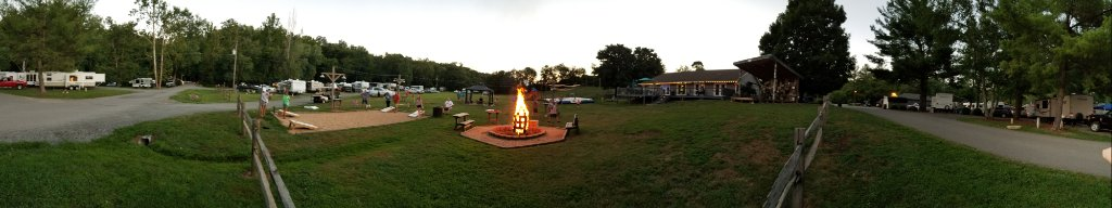 Bonfire and field sites
