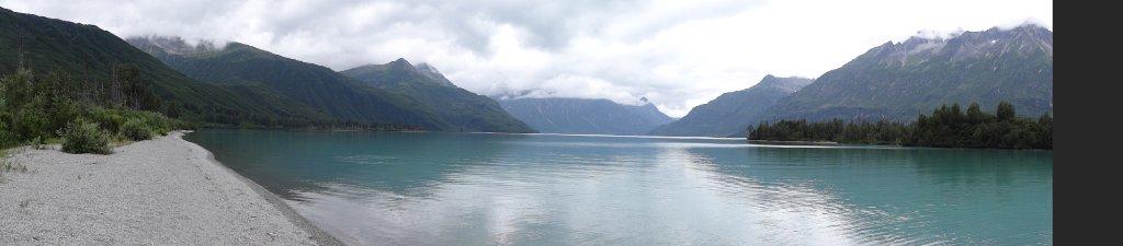 Cresent Lake panorama