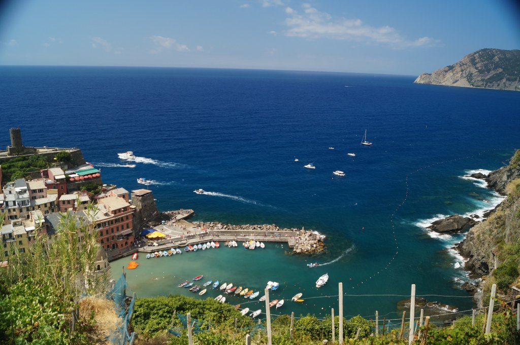 Vernazza, one of the Cinque Terre
