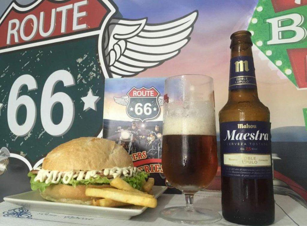 imagen Route 66 burguer en Ourense