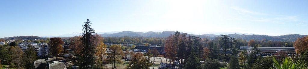 Storslået udsigt over Pyrenæerne