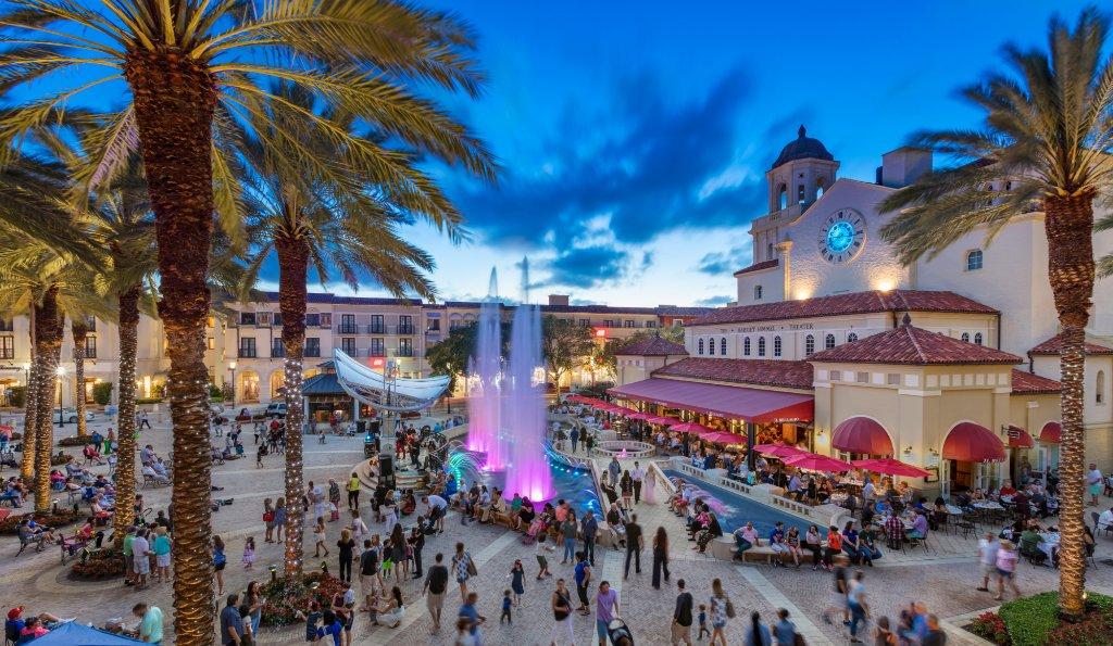 Blue martini city place