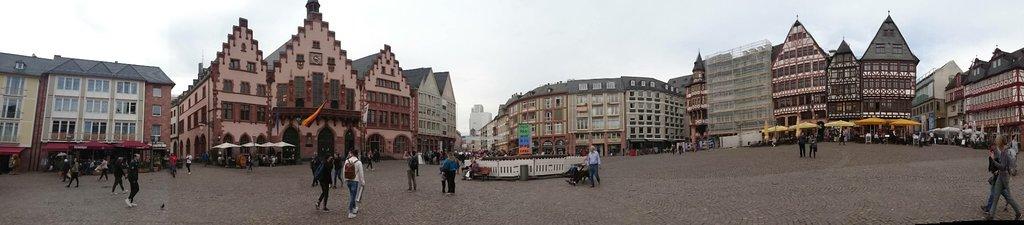 Lovely cultural centre of Frankfurt