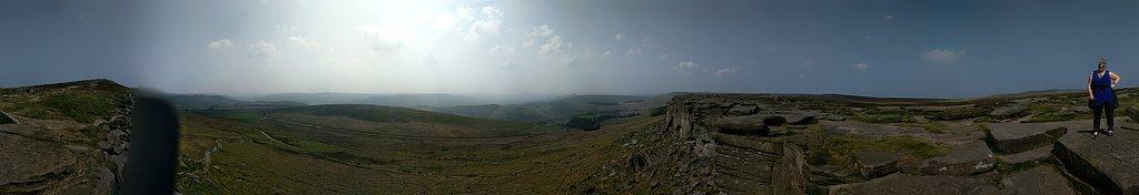Barren views for days