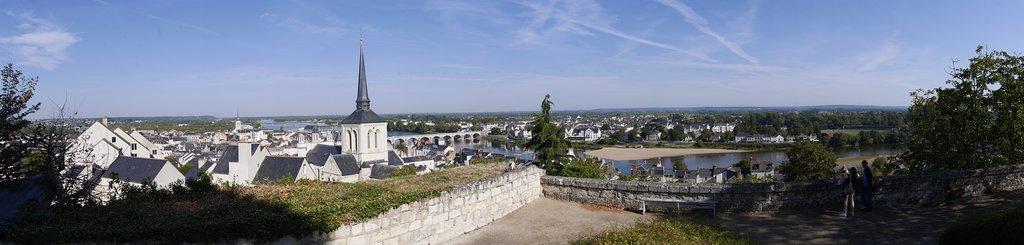 View from Chateau de Saumur