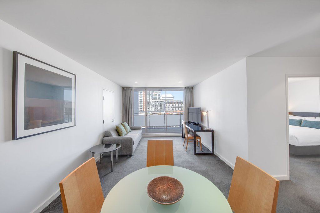 One Bedroom Apartment, Living room