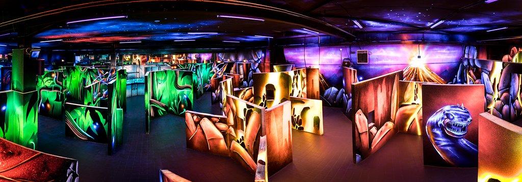 Laser World La Garenne - Lasertag