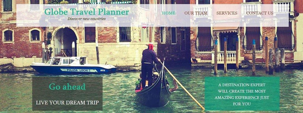 Globe Travel Planner