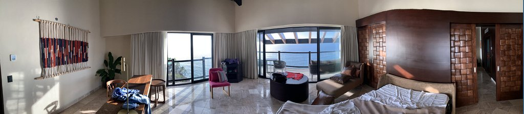 Club Presidental Suite - Office (which we turned into a private bedroom for one of the kids)
