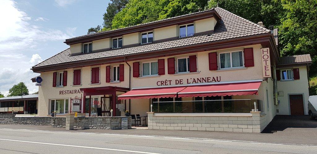 Hôtel - Restaurant - Grill Le Crêt de l'anneau