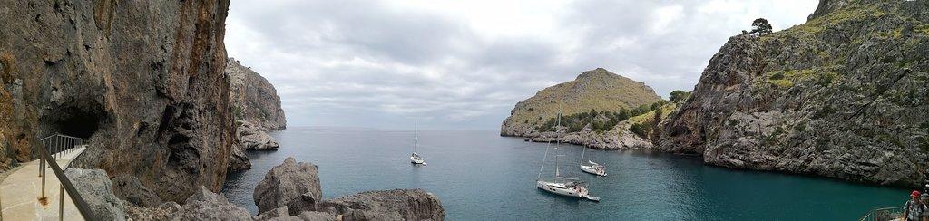 Path from Port de Sa Calobra to Torrent de Pareis.
