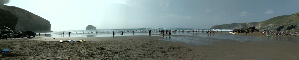Lovely beach - make sure you check the tide times!
