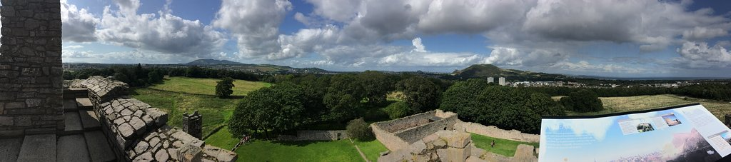 View from the roof toward Edinburgh