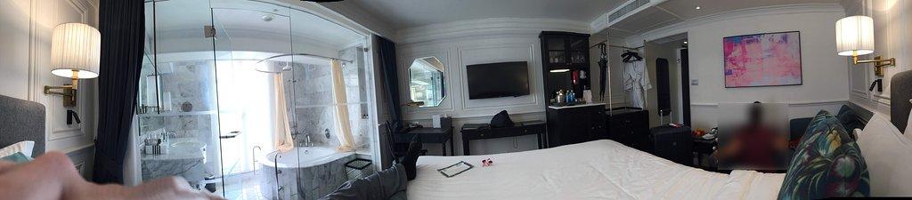 Panorama of room