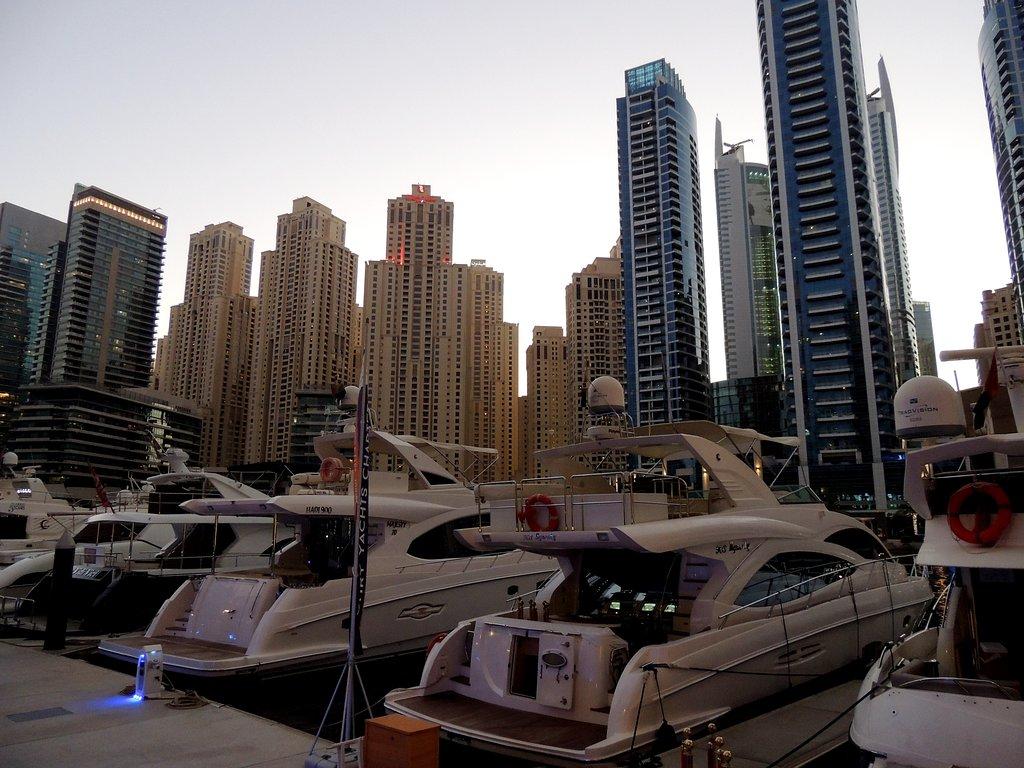 Пристань Дубай-Марина