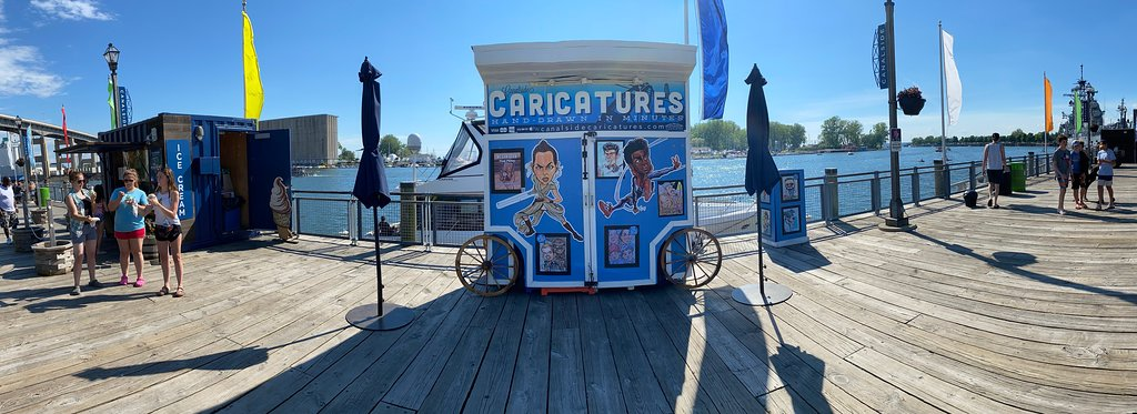 Canalside Caricatures