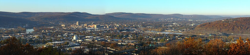Downtown Binghamton, NY - Just 27 miles North from Interstate 81