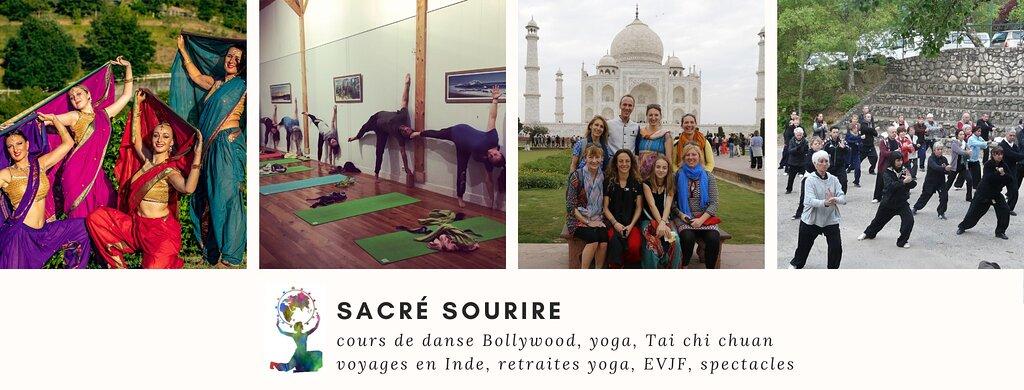 Alice, Revelatrice d'Arts Corporels Indiens Yoga & Bollywood