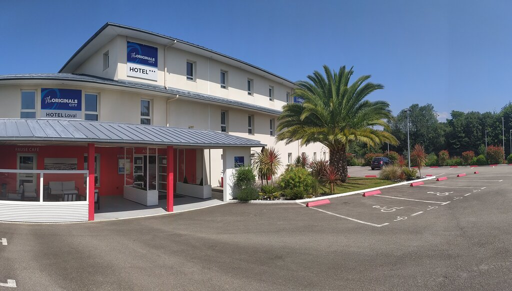 Hotel The Originals Brest Loval