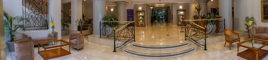 Lobby Hotel Intersur Recoleta