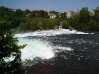 Neuhausen am Rheinfall, Sveits: Rhein Falls