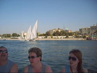 Luxor, Egypt: Boat Ride on the Nile