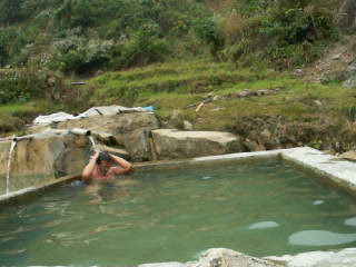 A Hot Spring in Ban Ho, Sapa, Vietnam