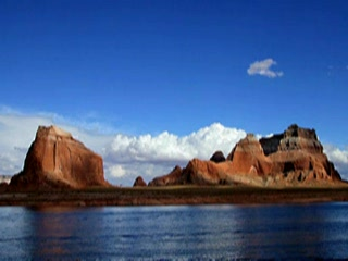 Rainbow Bridge Lake Powell Utah