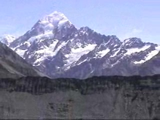 Isla Sur, Nueva Zelanda: Mt. Cook video