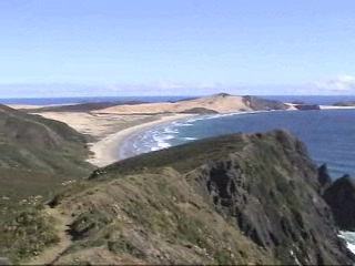 North Island, Nova Zelândia: Cape Reinga Video