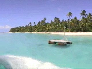 Aitutaki, Cookinseln: Lagoon cruise video