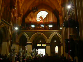 Video of the Cathedral de Curitiba