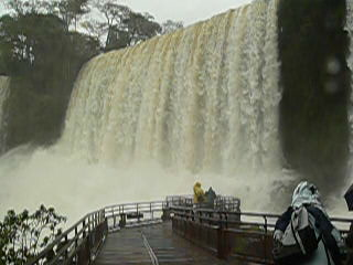 Puerto Iguazu, Argentinië: Here you can feel the strongness