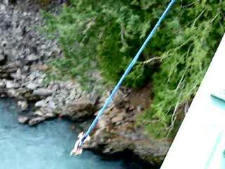 Whistler, Canada: Terri-Lynn Bungee Jumping