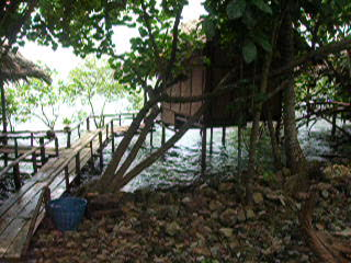 Koh Chang, Tajlandia: a.  VIDEO our Bamboo Hut