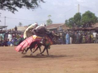 Benin: Bariba Horsemanship