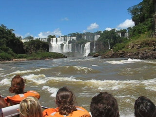 Foz do Iguacu, PR: Before we got wet