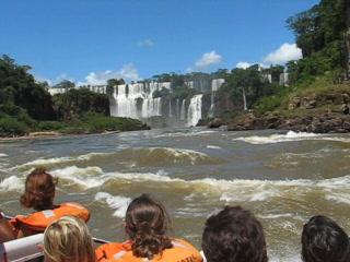 Foz do Iguaçu, PR: Before we got wet