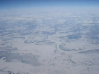 Siberian District, Rusia: 12. Flying over Siberia