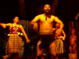 Taupo, Yeni Zelanda: 28 - Maori dance