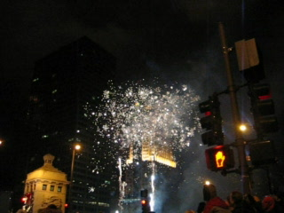 Chicago, IL: fireworks video