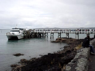 North Island, Nova Zelândia: Rangitoto harbour!!!