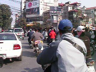 traffic in Hanoi movie