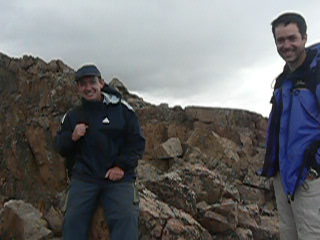 Mendoza, Argentina: 008 on a ridge