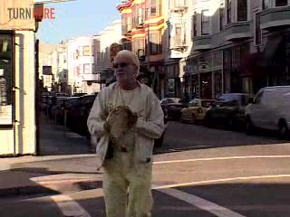 Mal Sharpe walks where Beat poets Kerouac and Ginsberg walked in San Francisco's North Beach.