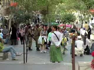 Jerusalén, Israel: Ben Yehuda Street