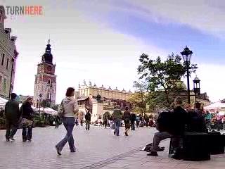 Pologne du sud, Pologne : Krakow